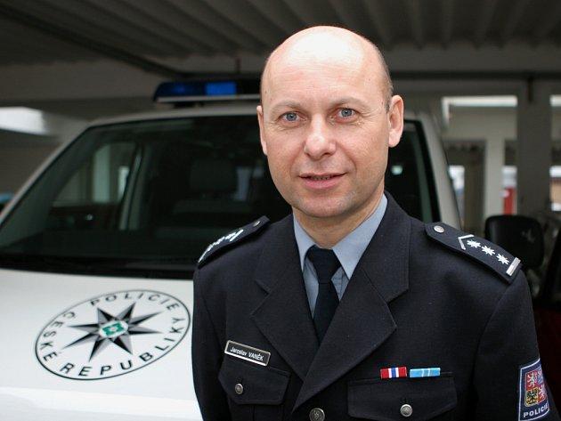 Bývalý policejní ředitel Jaroslav Vaněk