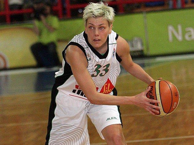 Černohorská basketbalistka Jelena Škerovičová.