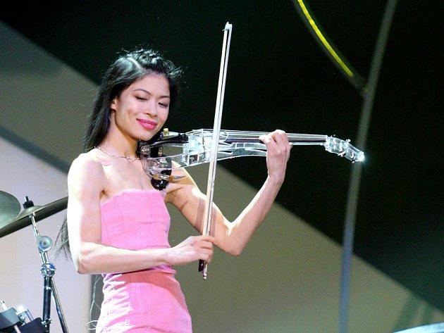 Světoznámá houslistka Vanesa Mae.
