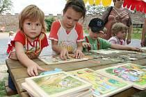 Soutěže, hry či postavy z historie potěšily návštěvíky hradu Veveří.