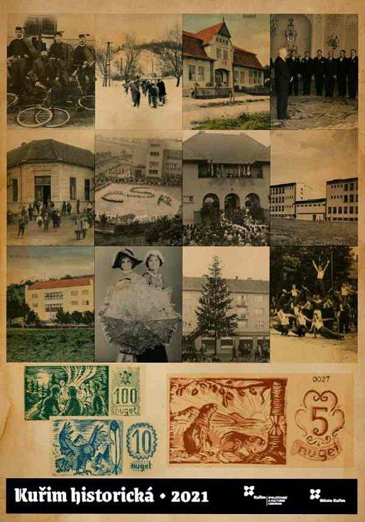 Kalendář Kuřim historická.