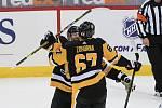 Radim Zohorna vstřelil svůj první gól v NHL hned při své premiéře na konci března.