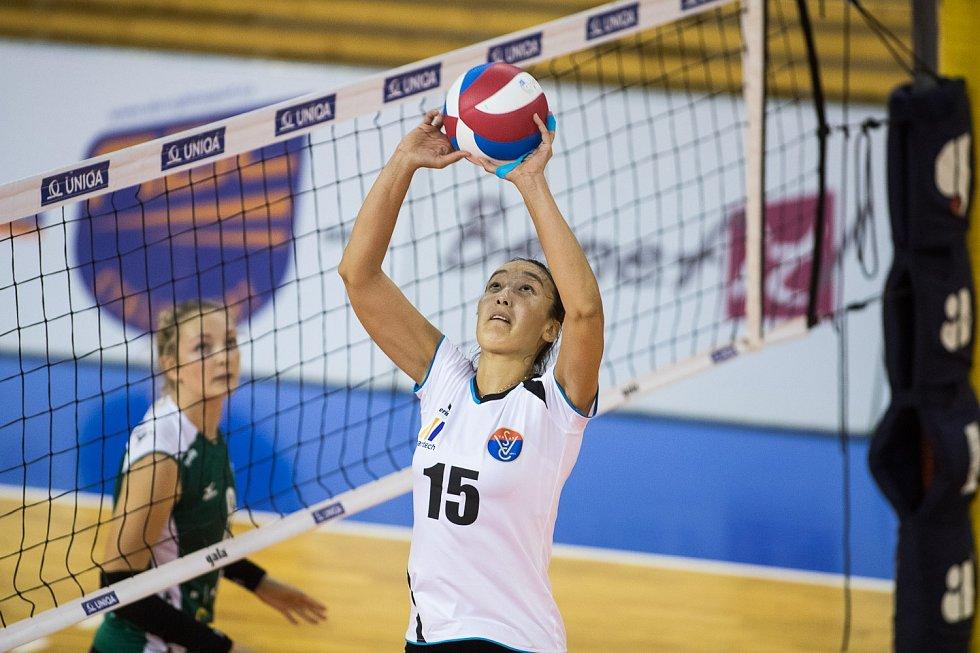Volejbalistky Králova Pole obsadily na prestižním domácím turnaji Grand Prix Brno v konkurenci pěti zahraničních klubů z pěti různých zemí cennou třetí příčku.