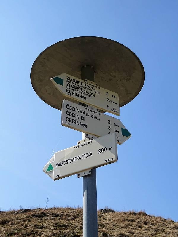 Malhostovické kopečky nabízí turistům úchvatné výhledky do okolí.