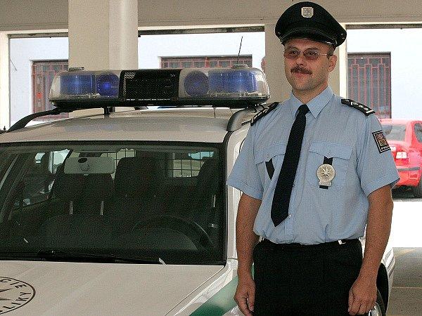 Náměstek jihomoravského policejního ředitele Miloslav Klodner