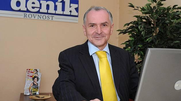 Lídr kandidátky KDU-ČSL Stanislav Juránek.
