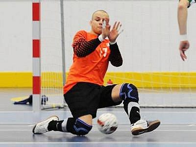 Futsalista Václav Kubíček.