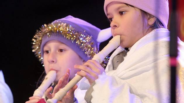 V Kohoutovicích pořádali Vánoční zvonění.
