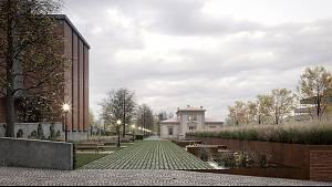 Architektonická soutěž na nový hlavní vstup brněnského Ústředního hřbitova.