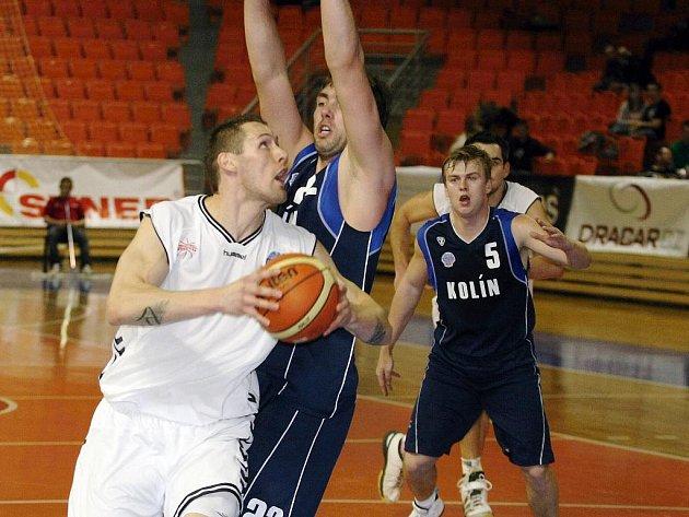 Basketball Brno v utkání s Kolínem.
