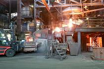 Výroba ve Slévárně Heunisch v bývalém areálu Zetoru.