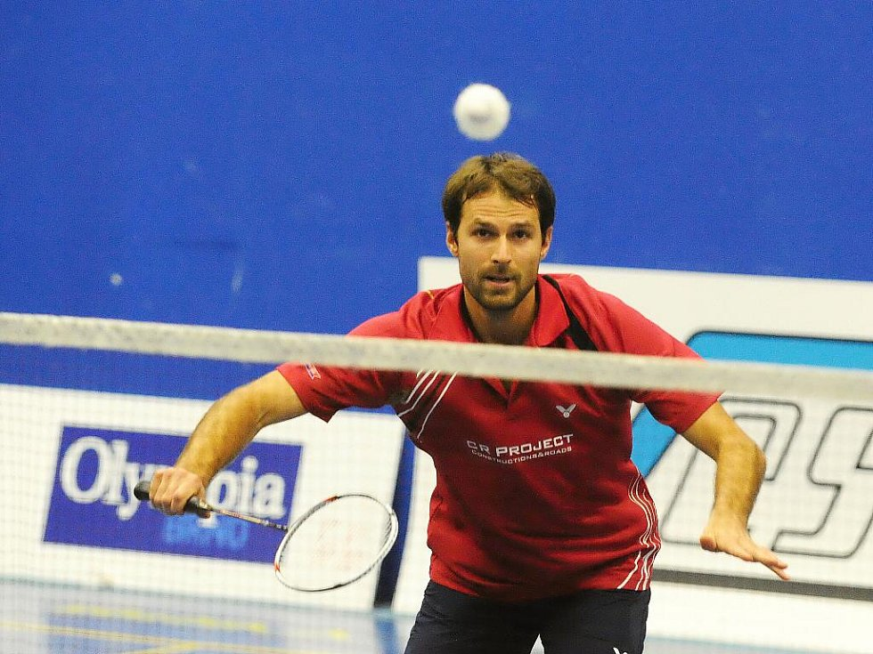 Badmintonista Jan Frölich.