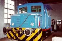 Ukradená lokomotiva Ls 150.