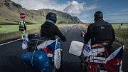 Šestičlenná skupina cestovatelů na babetách ujela za třiadvacet dní po Islandu téměř dva tisíce kilometrů.