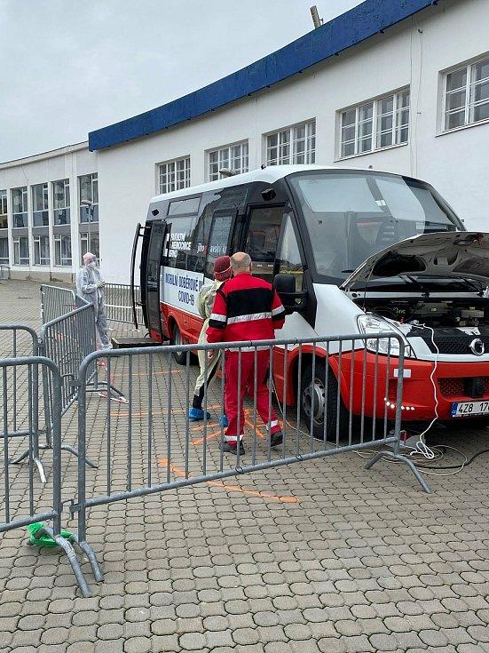 Pojízdný covidbus bude testovat pacienty na koronavirus
