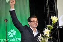 Staronový předseda Strany zelených Ondřej Liška.