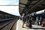 Opravené brněnské Hlavní nádraží. Foto: Deník/Lenka Jebáčková