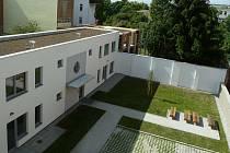 Zrekonstruovaný dům v Mostecké ulici v brněnských Husovicích nabízející startovací a sociální byty.