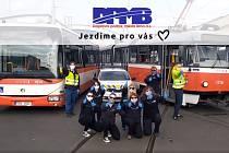 Nové video zaměstnanců brněnského dopravního popisuje prevenci proti nakažení novým koronavirem.