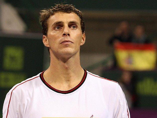 Tenista František Čermák.
