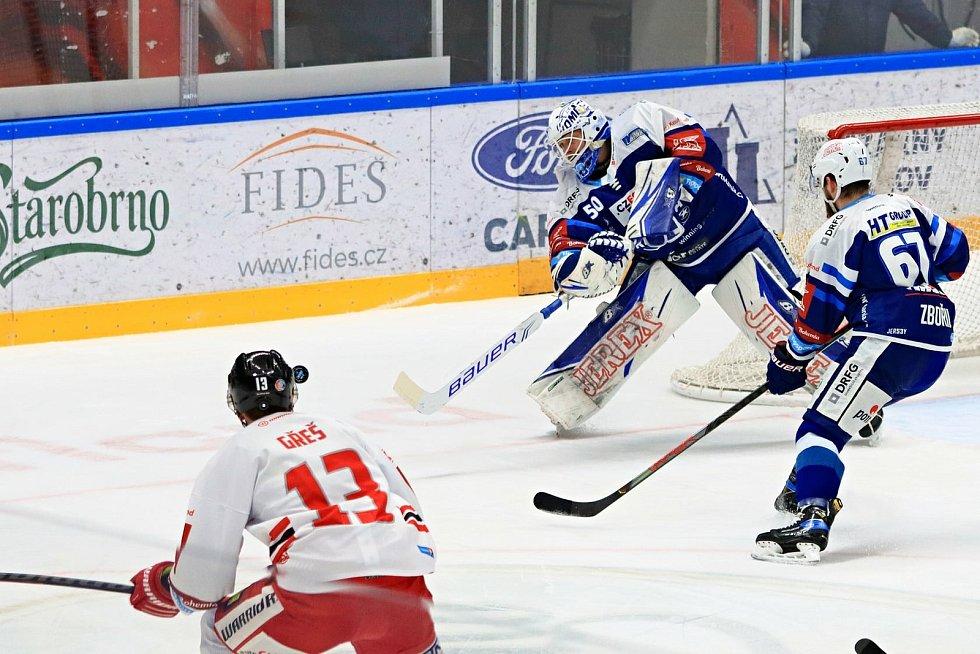 Hokejisté brněnské Komety přivítali na domácím ledě Olomouc.