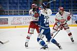Hokejisté Komety přivítali v závěrečném zápase před pauzou Hradec Králové.