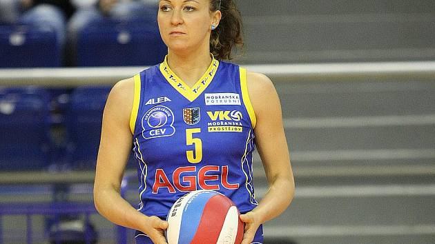 Volejbalová reprezentantka Šárka Kubínová.