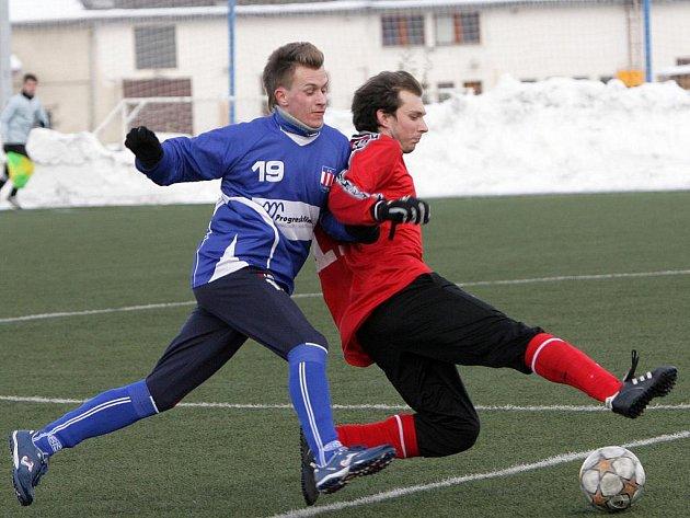 Fotbalisté SK Líšeň porazili ve třetím kole zimního turnaje ČAFC Židenice 3:0.