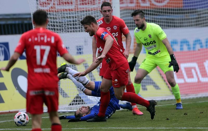 SK Sigma - FC Zbrojovka BrnoPablo González, Pavel Dreksa