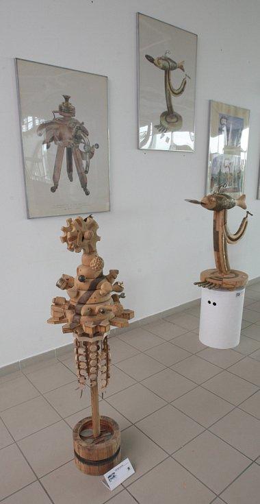 Výstava v Technickém muzeu v Brně s názvem Ponorka Victoria.