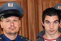 Bohumil Šotek u soudu