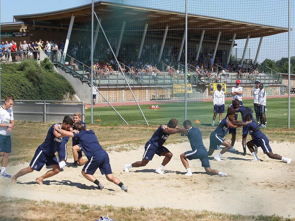 Hráči Paris Saint-Germain ladili formu nedaleko Znojma.