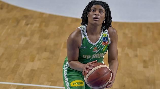 Americká basketbalistka Teniya Ann Pageová posílila KP Brno v polovině října.