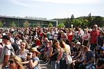 Brněnské Výstaviště zaplavily tisíce studentů, kteří přišli na festival Majáles.