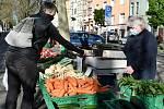 V pondělí 20.4.2020 začalo v omezeném režimu znovu fungovat tržiště Husitská v Králově Poli.