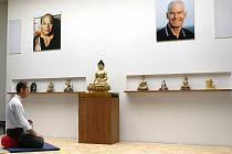 Meditační budhistické centrum v Brně.