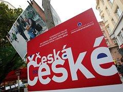 Pouliční výstava Česká na České v Brně.