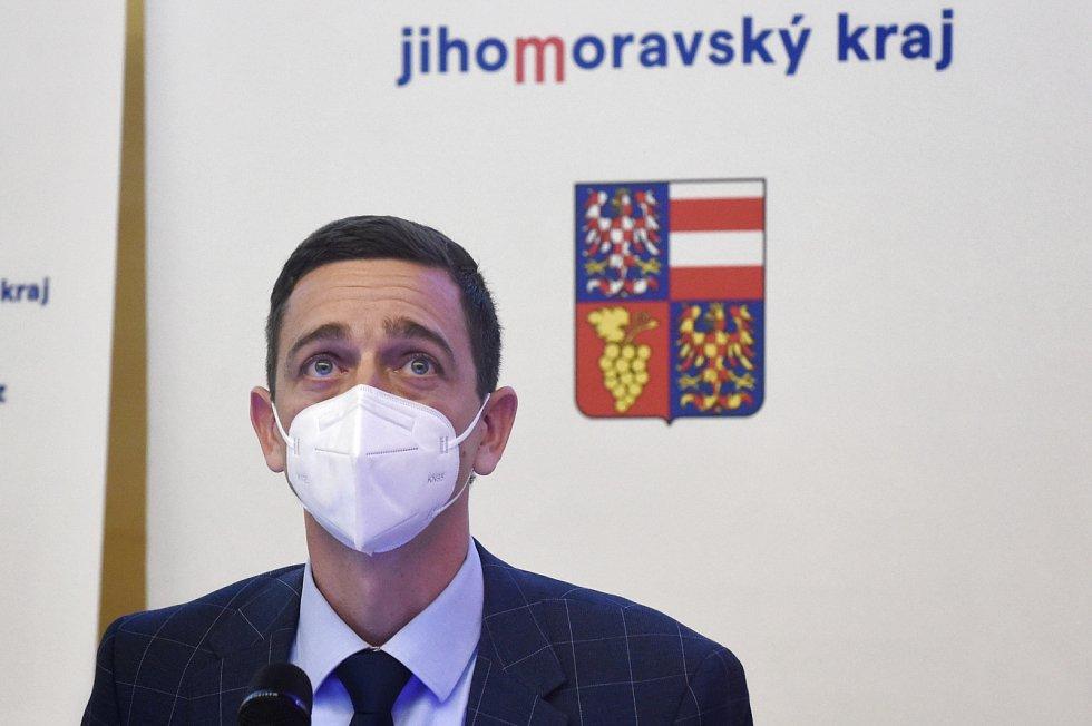 Nový hejtman Jihomoravského kraje Jan Grolich.
