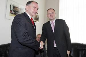 Stanislav Juránek a Michal Hašek.