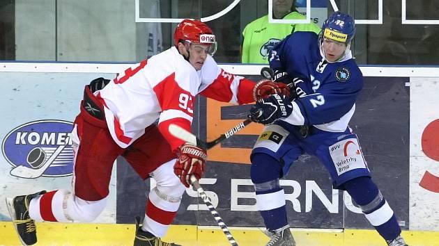 Poslední duel Komety Brno v European Trophy Brňané zvládli. Porazili České Budějovice 4:1.