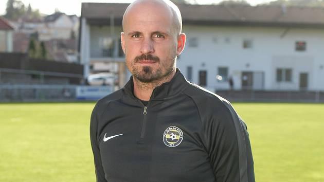 Ředitel třetiligového fotbalového klubu Slovan Rosice Petr Čejka.