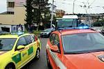 Pondělní požár v ulici Mozolky v brněnských Žabovřeskách.