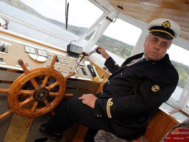 Na brněnské přehradě začala 62. plavební sezona