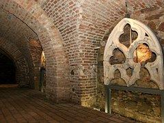 Sklepení takzvaného domu mincmistrů ze třináctého století.