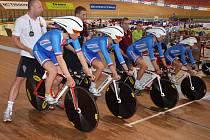 Kvarteto mladíků skončilo na mistrovství světa v dráhové cyklistice v Bělorusku jedenácté ve stíhacím závodu družstev na čtyři kilometry.