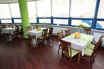 Brněnská restaurace IBC Top Restaurant.
