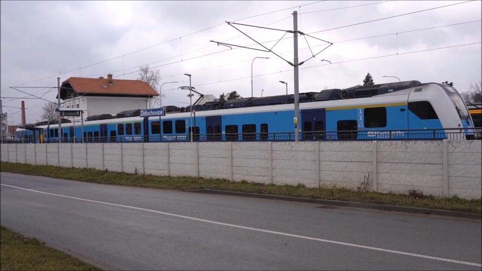 Správa železnic řeší nadměrný hluk v Židlochovicích.