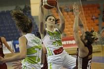 Královopolské basketbalistky ve svém posledním utkání EuroCupu podlehly italským Benátkám 51:76.
