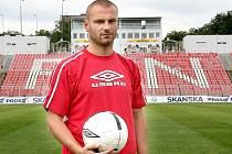 V Plzni bude chybět zraněný útočník Tomáš Došek.