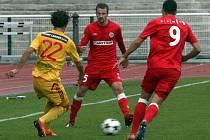 Fotbalisté Zbrojovky podlehli Dukle 1:2.
